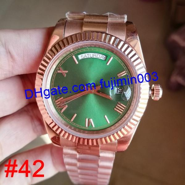# 42 in oro rosa (nessuna scatola)