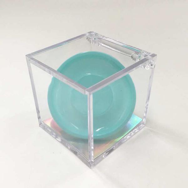 bule cube box