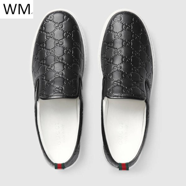 Duping520 Brand Classic Leather Black Casual Shoes Set Foot Shoes Sneakers Dress Shoes Skate Dance Ballerina Flats Loafers Espadrilles