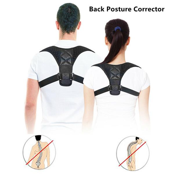 Réglable médicale Clavicule Posture Correcteur hommes Woemen haut du dos Brace épaule Ceinture soutien lombaire Corset Correction Posture