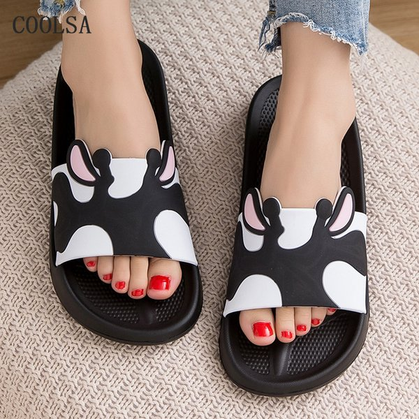 Summer New Men Slippers Fashion Casual Home Shoes Couple Beach Slippers Soft Comfortable Flat Shoes Non Slip Bathroom Flip Flop