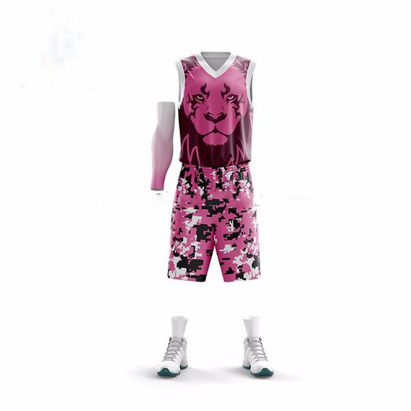 College custom professional basketball jerseys men women outdoor sports 3D lettering basketball clothes jersey waterproof leisure sets