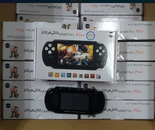 YENI PAP Gameta II Artı 16 GB HDMI 64Bit Oyunları MP4 MP5 TV Oyun Konsolları Taşınabilir El Oyun Oyuncu TV Çıkışı Kamera E-kitap PVP Pxp3 PVP GB Boy