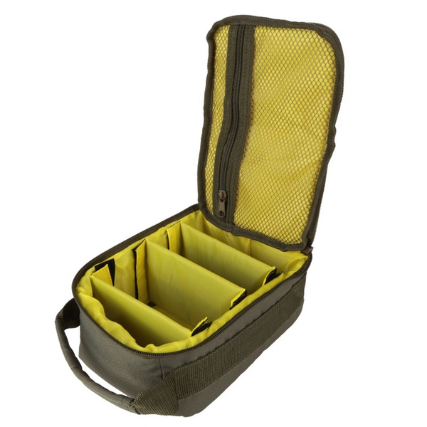 Army Green Fishing Bag Canvas Multi-functional Waist Shoulder Bags Fishing Reel Lure Storage Bag Tackle Pesca #1004046
