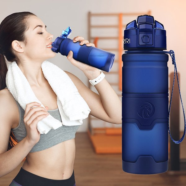 Best Sport Tritan Copolyester Plastic Material Bottle Fitness Gym Yoga For Kids/adults Water Bottles With Filter Q190604