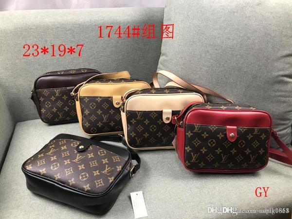 2019 stilleri Çanta Ünlü Adı Moda Deri Çanta Kadın Bez Omuz Çantaları Bayan Deri Çanta M Çanta çanta 1744