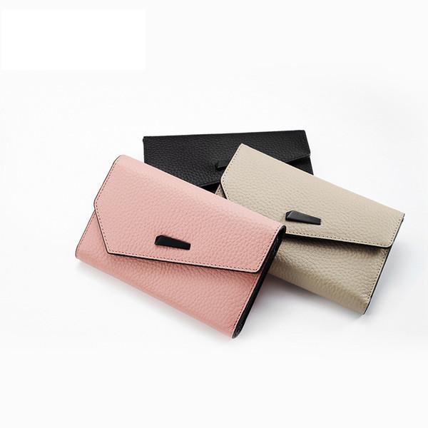 Luxus Echtes Leder Brieftasche Frauen Kurze Rosa Koreanische Geldbörse Dropshipping Neue 2018 Heißer Verkauf Bolsos Para Mujer Con Diseno Perro