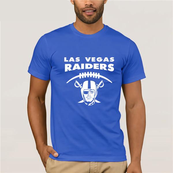 2019 la más nueva carta PrintMen corto O-cuello de manga corta Las Vegas  Raiders nuevo equipo Oakland camisa talla S a 3XL camisetas aa92d9500a8