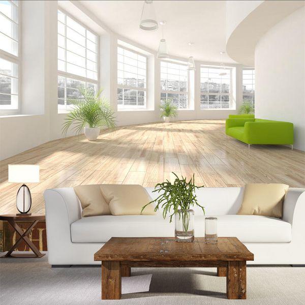 Großhandel Moderne Tapete 3D Weiß Korridor Erweiterung Raum Wandbild  Tapeten Für Wohnzimmer Schlafzimmer Wände 3D Wand Papier Home Decor 3D  Wandbilder ...