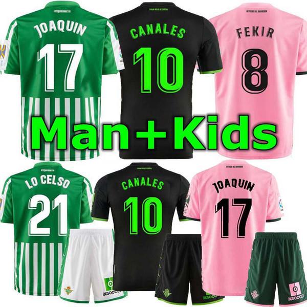 Man And Kids 19 20 Real Betis Soccer Jerseys Camiseta De Faºtbol 2019 2020 Canales Juanmi Fekir Joaquan Home Away Men Kids Kits Black Yellow Dhgate Com Imall Com
