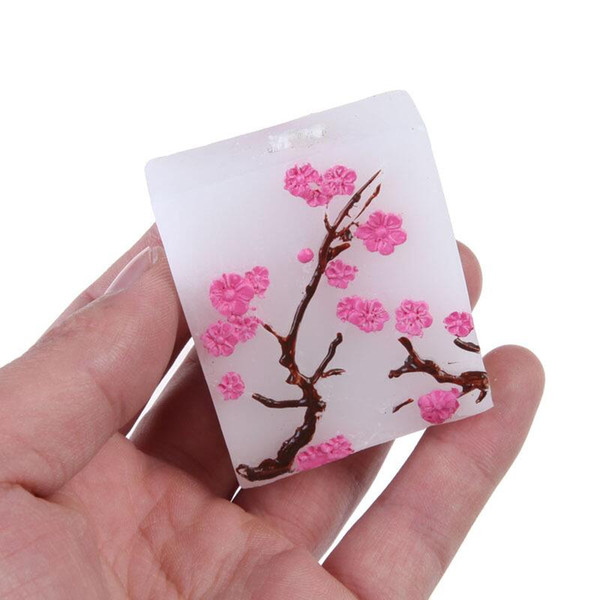 Free Shipping 50PCS Cherry Blossom Candle Favors Bridal Shower Wedding Giveaways Anniversary Souvenirs Party Gifts LX6536