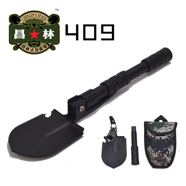 New Military Portable Fold Shovel Survival Spade Trowel Dibble Pick Emergency Garden Camping Outdoor Palaplegable Tool