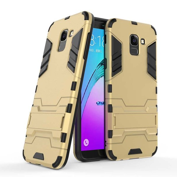 For Samsung Galaxy J6 Prime Plus J6 2018 EU US Case Mobile phone Cover Slim Armor Case Hybrid Combo Cover Luxury 2 in 1 Anti Shock Iron man