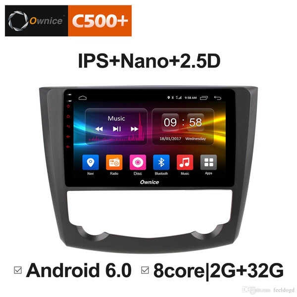 """9"""" 2.5D Nano IPS Screen Android Octa Core/4G LTE Car Media Player With GPS RDS Radio/Bluetooth For Renault Kadjar 2015-2017 #5893"""