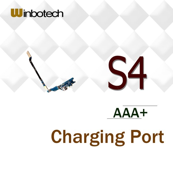 Brand New AAA Quality Charging Port Connector Flex Cable For Samsung Galaxy S4 GT-i9505 i9500 i337 i545 USB Charger Flex