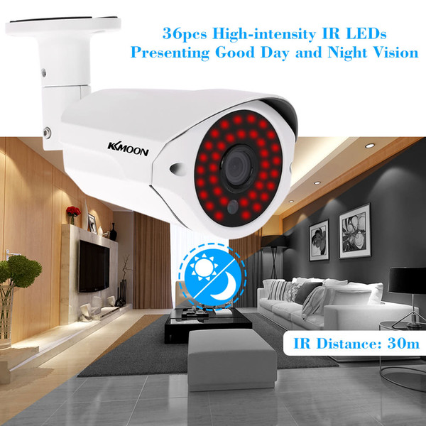 Wifi IP Camera 1080P AHD Bullet Night Vision IR Wireless Video CCTV Camera Baby Monitor Outdoor Home Security Surveillance NTSC PAL System