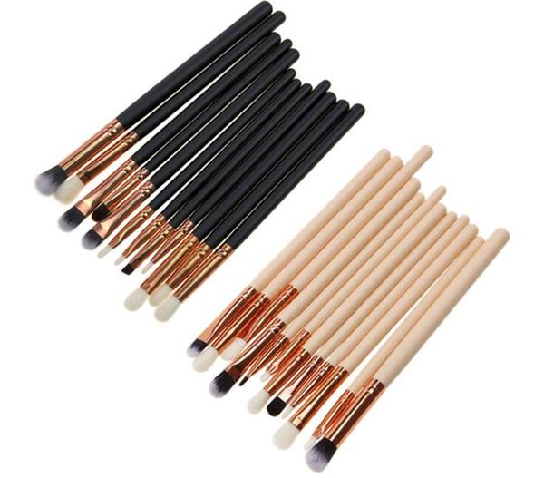 12pcs Makeup Brushes Set Para sombra sobrancelhas e lábios maquiagem design profissional para mulheres textura é macia e pele amigável.