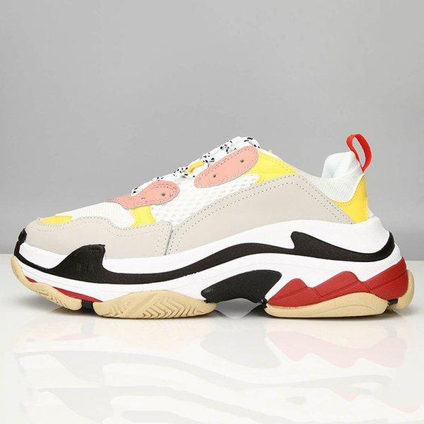 4.Pink jaune et rouge