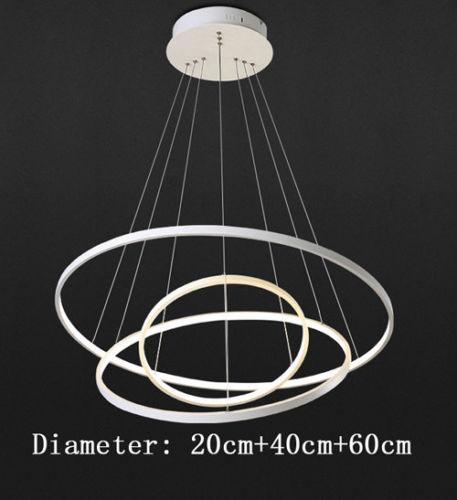 3 Anéis Diâmetro 20cm + 40cm + 60cm