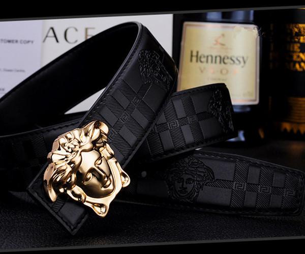 jiejie0006 / Hot selling Big large buckle genuine leather belt designer belts men women high quality new mens belts luxury belt as gift