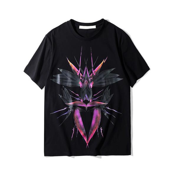 Famoso Mens Designer T Shirt Das Mulheres Dos Homens Designer Casual Mangas Curtas Casais Moda de Alta Qualidade Algodão Tees