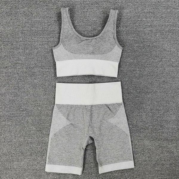 Short Set gris