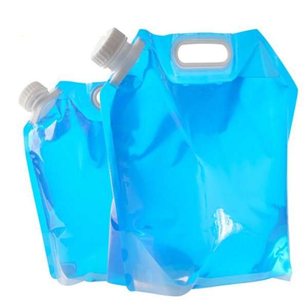 best selling 5L 10L PE Water Bag For Portable Folding Water Storage Bags For Outdoor Camping Hiking Survival Hydration Bags