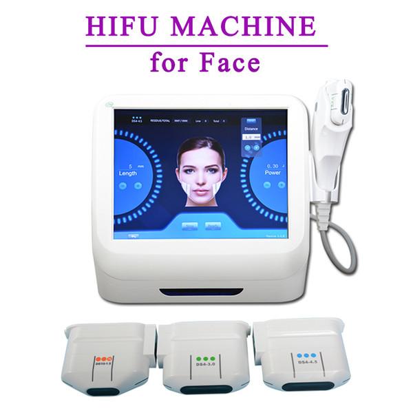 HIFU faciais hifu anti-envelhecimento Facial máquina de rosto de ultra-som para o elevador de cara Hifu Uso Doméstico máquina 10000 tiros Cuidados Com A Pele