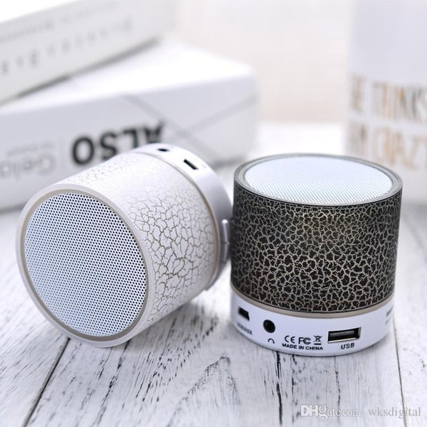 Wrdlosy Mini Portable Bluetooth Speaker With TF USB Music Player For iPhone Samung Outdoor Sport Column Speaker Gift Computer Box Free ship