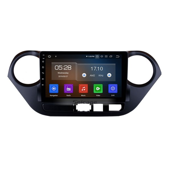 9 inch Android 9.0 GPS Navi Car Stereo for 2013-2016 Hyundai I10 Left Peptide with Bluetooth WIFI support car dvd Rearview Camera OBD2 DVR