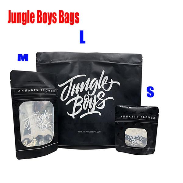 3.5g 7.0g 6-8 OZ 1 Libra Jungle Boys Sacos À Prova de Olho Criança Selva Jungleboys Stand Up Bolsa Erva Seca Flores Flavors Adesivo