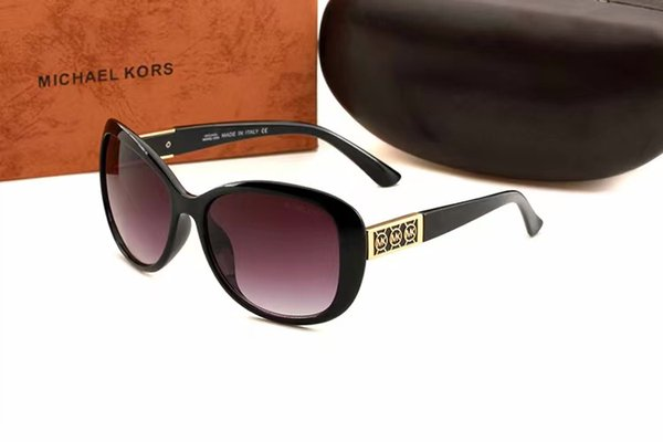 Hohe qualität pilot sonnenbrille designer sonnenbrille gradienten glaslinse brillen für herren damen brille gewöhnlichen box