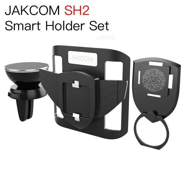 JAKCOM SH2 Conjunto Inteligente de Titular Venda Quente em Outros Eletrônicos enquanto os homens assistem ao copo montar o telefone do anel