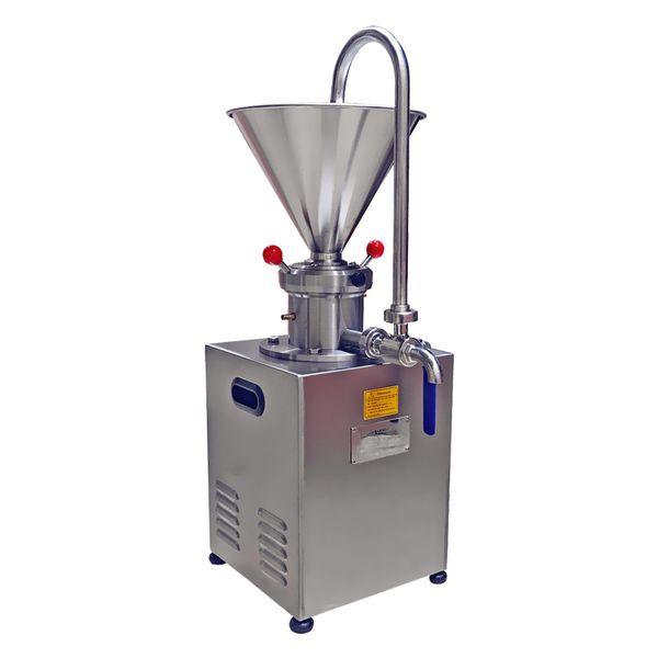 BEIJAMEI moulin colloïdal de lait d'amande d'acier inoxydable / fabricant commercial de pâte de sésame / 1500W beurre de cacahuète faisant la machine