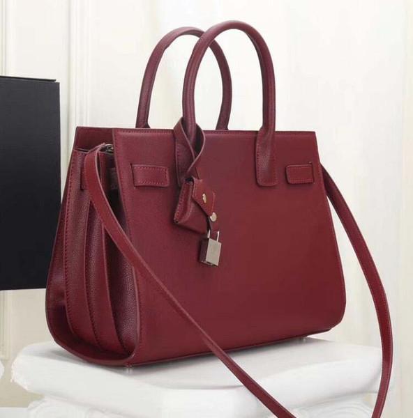 2019 Designer marque nouvelle mode 16 sacs à main sac femmes Messenger sac vintage top poignée sac fourre-tout sac à main top qualité en cuir véritable pour aa11