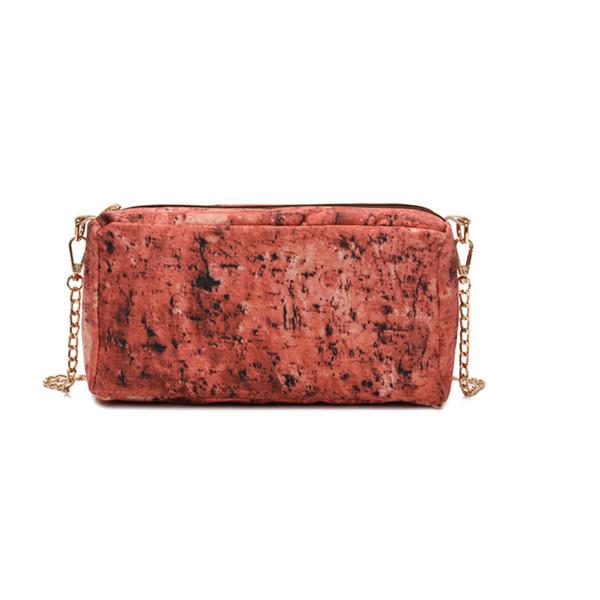 ISHOWTIENDA Brick Shape Bags Retro Fashion Women Zipper Chains Shoulder Bags Fashion Women Summer Messenger Bag bolsa feminina