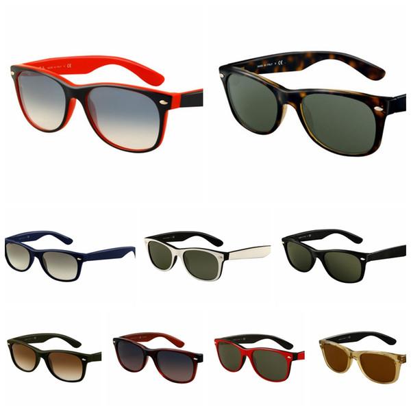 2018 Excellent Quality 2132 Ray Aviator Sunglasses Bans Frame Glass Lenses Brand Designer Sunglasses for Man Women