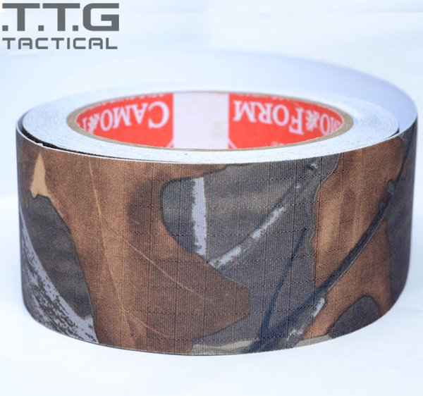 10m us army multicam camo rifle wrap gun tape tactical camouflage duct tapes camouflage cloth cp/acu thumbnail