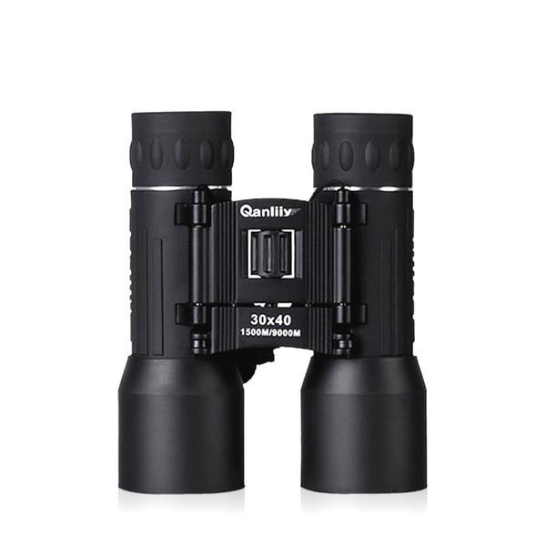 Jumelles haute définition 30X40 Portable Mini BAK4 FMC HD Jumelles de vision nocturne Télescope Haute définition