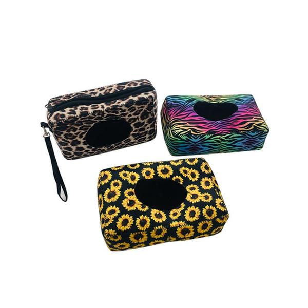Неопрен влажных салфеток Диспенсер Box Открытый Путешествие Детские Новорожденные Дети Wipe Case Box Bag Экологичные Мокрый бумажное полотенце мешок LXL581A