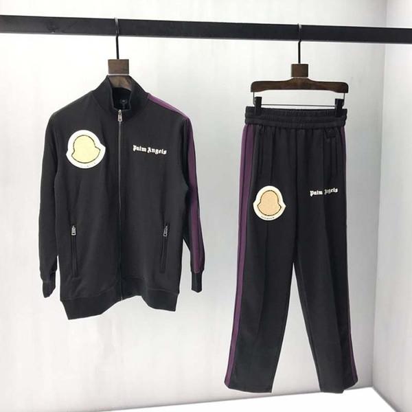2019 giacca firmata da uomo Asciugamano di lusso lettere ricamate vestiti nuovi modelli Stand colletto manica lunga Uomo Donna tag etichetta reale Nuovo