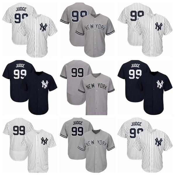 pretty nice cfd2e 43b30 2019 2019 Jersey New York 99 Yankees Jerseys Aaron Judge Jersey Good  Quality Factory Wholesale White Dark Blue Gray Baseball Jerseys From  Love_kids, ...