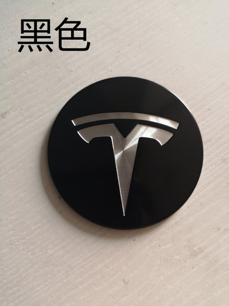 56MM Car Styling 1PC Tire Wheel Hubcaps Circle Cover Stickers for Tesla MODEL X MODEL S Auto Accessories