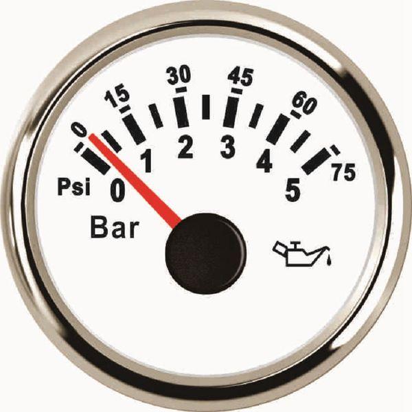 2/'/' 52mm Universal Car LED Bar Turbo Boost Vacuum Pressure Gauge Meter Bar DQ