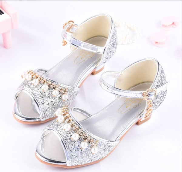 Outstanding 2019 Summer Girls Princess Dance Shoes High Heel Sandals Children Shiny Crystal Small Chair Piano Dress Performance Shoes Kides Shoes Kids Shoed From Ncnpc Chair Design For Home Ncnpcorg