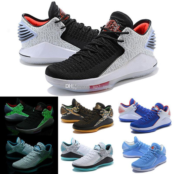 2019 New Jumpman 32 Chinese New Year Men Outdoor Shoes High Quality XXXII 32s Hornets Mens Trainers Sports Sneakers Size 40-46