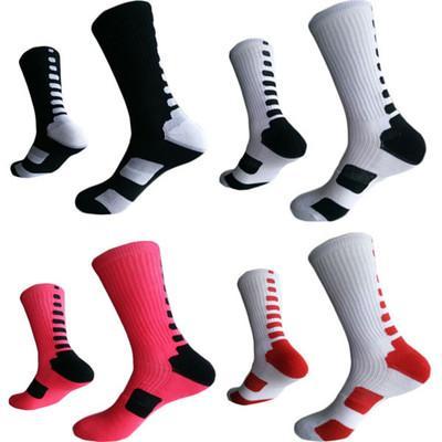 Лучшее качество США профессиональные мужские баскетбольные носки длинное колено спортивные спортивные носки мужская мода компрессия тепловые зимние носки