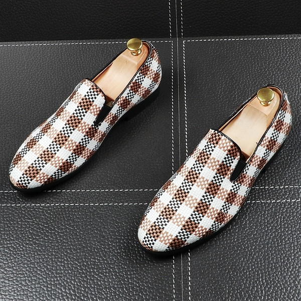 Memorable2019 Man Summer Sharp England Trend Set Foot Casual Increase Youth Doug Shoes. Small Leather Shoes Single