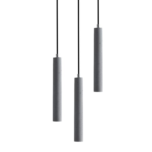 Nordic lamps and lanterns bedroom head restaurant bar creative designer cement long single head small chandelier