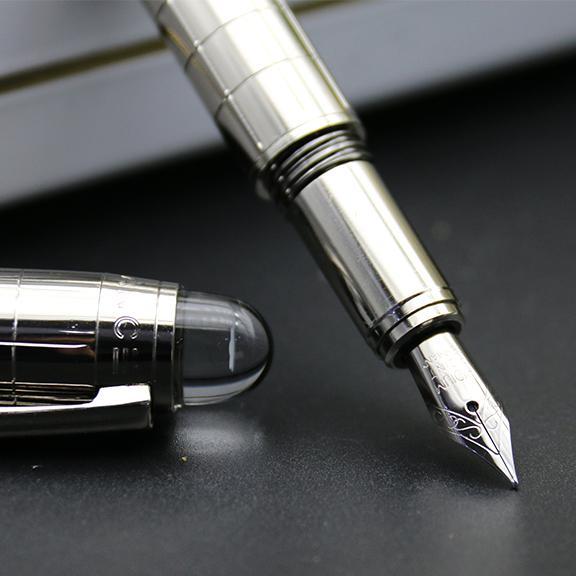 Promosyon Lüks kalem BMStar-waiker Siyah Reçine dönerbaşlı Tükenmez kalem dolma kalemler Yazma kırtasiye Okul ofis malzemeleri